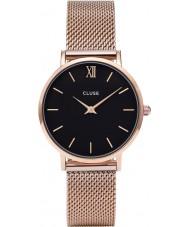 Cluse CL30016 Ladies Minuit mesh horloge