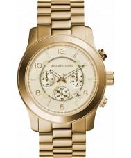 Michael Kors MK8077 Vergulde chronograaf horloge