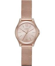 DKNY NY2489 Ladies parsons rose gouden mesh armband horloge