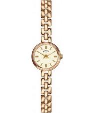 Rotary LB02543-03 Ladies uurwerken verguld horloge