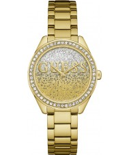 Guess W0987L2 Ladies glitter meisje horloge