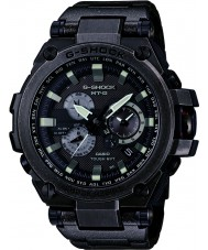 Casio MTG-S1000V-1AER Mens G-shock radio gecontroleerd op zonne-energie zwarte horloge