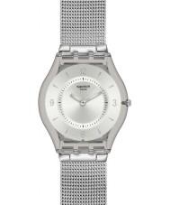 Swatch SFM118M Skin - metal breien horloge