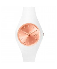 Ice-Watch 001397 Ladies ice-chic exclusieve witte siliconen band horloge