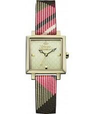 Vivienne Westwood VV087GDBR Dames exposanten horloge