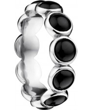 Bering Time Dames zwarte keramische bubble ring