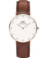 Daniel Wellington DW00100075 Ladies classy st mawes 34mm rose gouden horloge