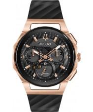 Bulova 98A185 Mens progressief curv horloge
