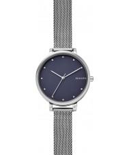 Skagen SKW2582 Ladies hagen zilveren stalen gaas armband horloge