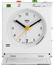 Braun BNC005WHWH Motion actived snooze wekker - wit
