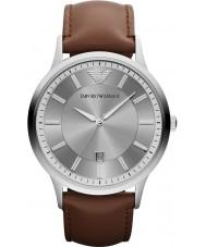 Emporio Armani AR2463 Heren Classic grijs bruin horloge