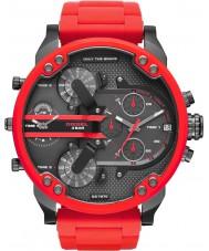 Diesel DZ7370 Mens mr papa 2,0 rode stalen armband horloge
