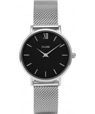 Cluse CL30015 Ladies Minuit mesh horloge