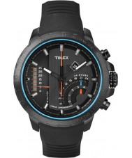 Timex T2P272 Mens Black T-serie lineaire chronograaf