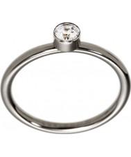 Edblad 2153441937-XS Ladies belle uno glanzend stalen ring - maat L (xs)