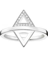 Thomas Sabo Dames glam en ziel zilveren diamanten ring