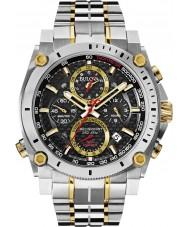 Bulova 98G228 Mens precisionist two tone stalen chronograaf