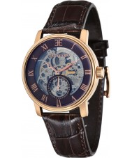 Thomas Earnshaw ES-8041-05 Mens westminster bruine pot lederen band horloge