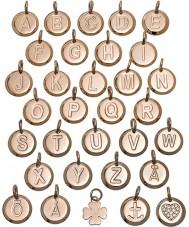 Edblad 116130235-B Charmentity b rose goud verguld kleine hanger