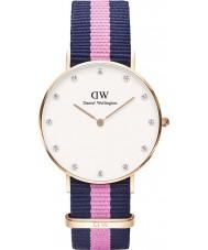 Daniel Wellington DW00100077 Ladies classy winchester 34mm rose gouden horloge