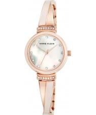 Anne Klein AK-N2216BLRG Dames tiffany horloge
