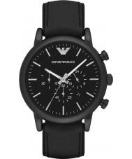 Emporio Armani AR1970 Mens klassiek zwart chronograafhorloge