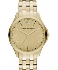 Armani Exchange AX2167 Mannen kleding vergulde armband horloge