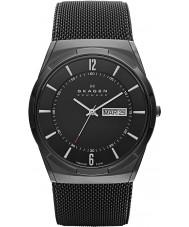 Skagen SKW6006 Mens Aktiv zwart gaas horloge