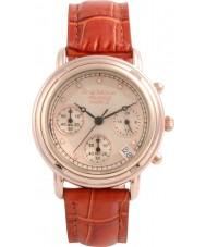 Krug-Baumen 150575DL Principe diamant dames rose goud chronograafhorloge
