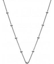 """Emozioni CH050 24 """"sterling zilveren intermitterende kralen ketting"""
