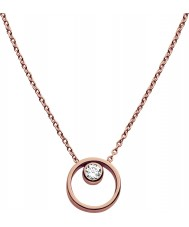 Skagen SKJ0850791 Ladies elin rose goud vergulde ketting