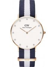 Daniel Wellington DW00100078 Ladies classy Glasgow 34mm rose gouden horloge