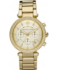 Michael Kors MK5354 Ladies blair vergulde chronograafhorloge
