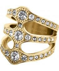 Dyrberg Kern 333764 Ladies robinia kristallen ring - maat S