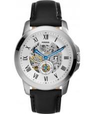Fossil ME3053 Mens subsidie zwart lederen band horloge