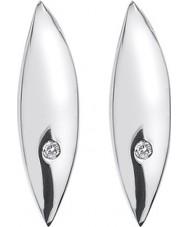 Hot Diamonds DE452 Ladies blad sterling zilveren oorbellen