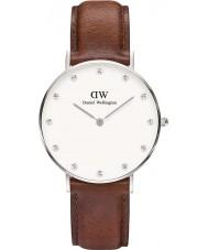 Daniel Wellington DW00100079 Ladies classy st mawes 34mm zilveren horloge