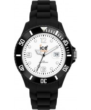 Ice-Watch SI.BW.B.S Ice-wit grote zwarte watch