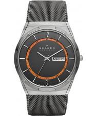 Skagen SKW6007 Mens aktiv grijze mesh horloge