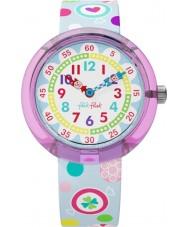 Flik Flak FBNP064 Meisjes suiker knoestig multicolour horloge