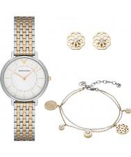 Emporio Armani AR80000 Dames jurk horloge cadeau set
