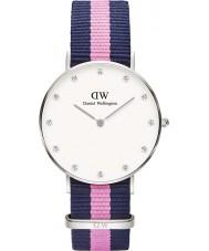 Daniel Wellington DW00100081 Ladies classy winchester 34mm zilveren horloge