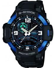 Casio GA-1000-2BER Mens G-SHOCK twin sensor neon-verlichting horloge
