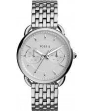 Fossil ES3712 Dames maat zilveren stalen armband horloge