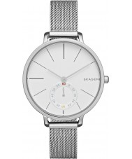 Skagen SKW2358 Ladies hagen zilveren stalen armband horloge