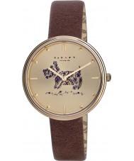 Radley RY2312 Ladies rozemarijn tuinen bruin lederen band horloge