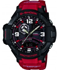 Casio GA-1000-4BER Mens G-SHOCK twin sensor neon-verlichting horloge