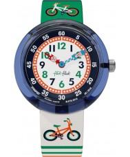 Flik Flak FBNP067 Jongens rijden uit multicolour horloge