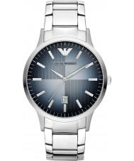 Emporio Armani AR2472 Heren klassieke zilveren stalen horloge