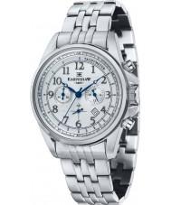 Thomas Earnshaw ES-8028-11 Mens commodore zilver staal chronograafhorloge
